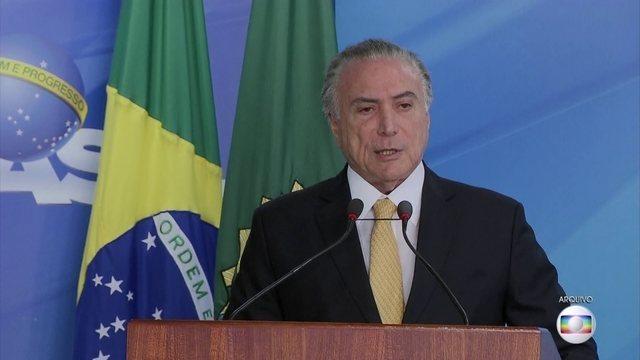 Polícia Federal afirma que Temer recebeu R$ 31 milhões em vantagens: https://t.co/x3noEwGOo1 #JornalHoje
