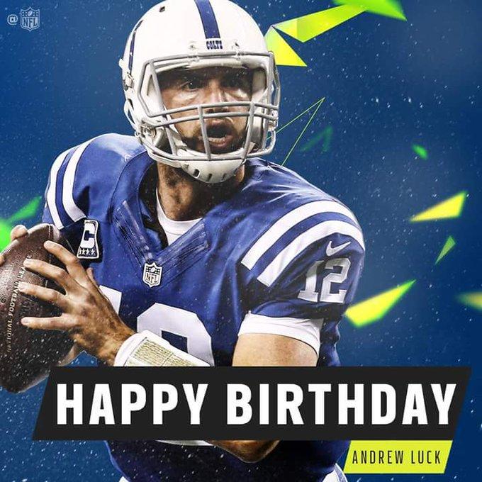 Happy Birthday Andrew Luck