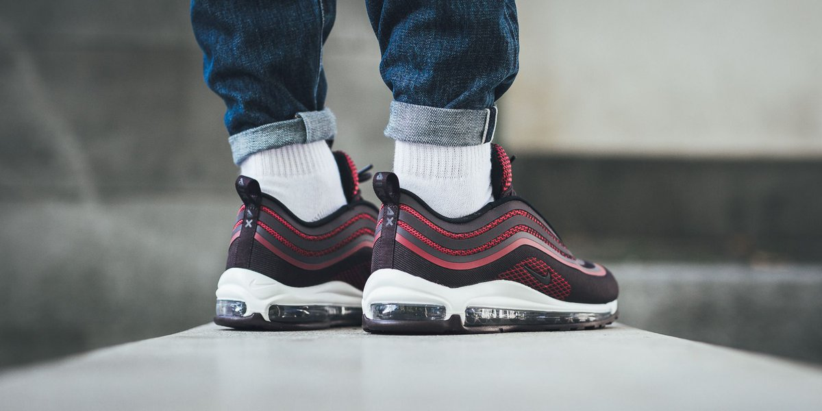 Nike Air Max 97 UL 17 GS Noble Red Port 917998 600
