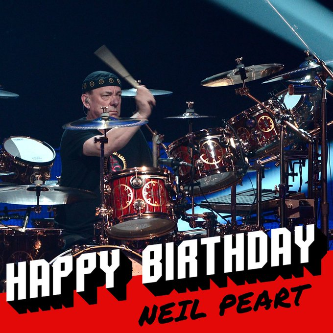 Loudwire: Happy 65th birthday to one of the world\s greatest drummers, rushtheband\s Neil Peart!