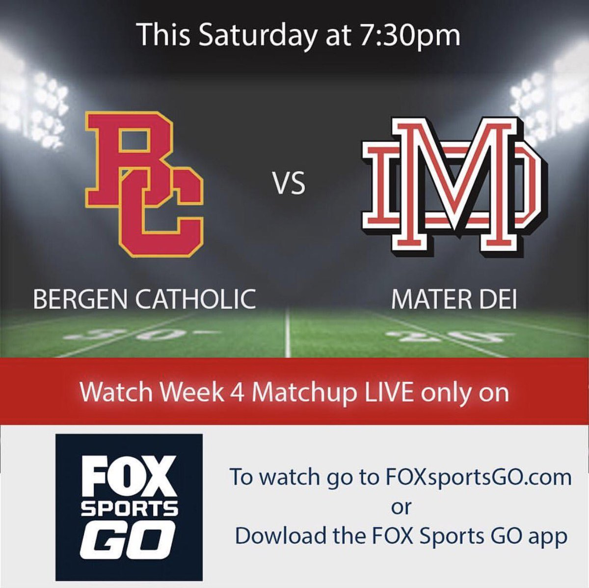 Mater Dei Football On Twitter Don T Miss Out This Saturday At 7