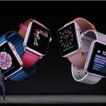アップルが新型Apple Watch「SERIES 3」を発表 - 携帯通信で通話が可能、音楽のスト…