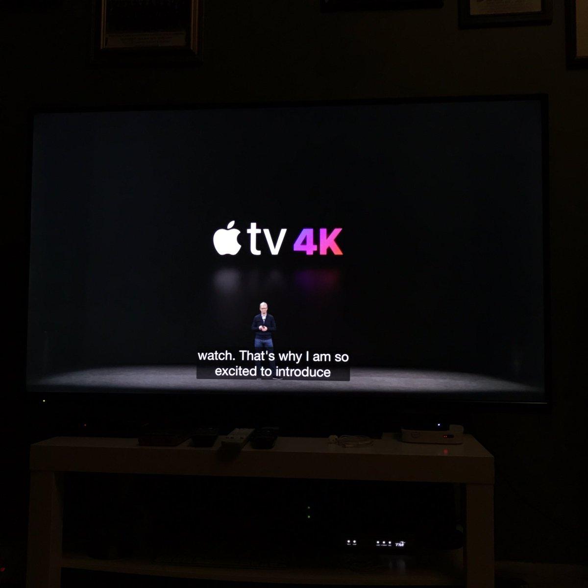 @Apple TV 4K???? Awesome!!! X menyesal Abam beli Apple TV 😜
