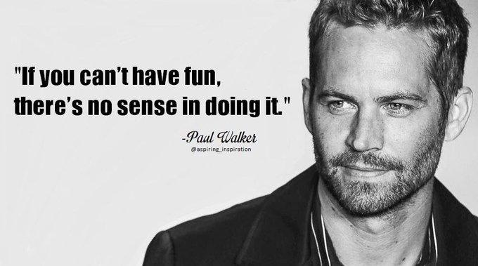 [Image] Happy Birthday Paul Walker