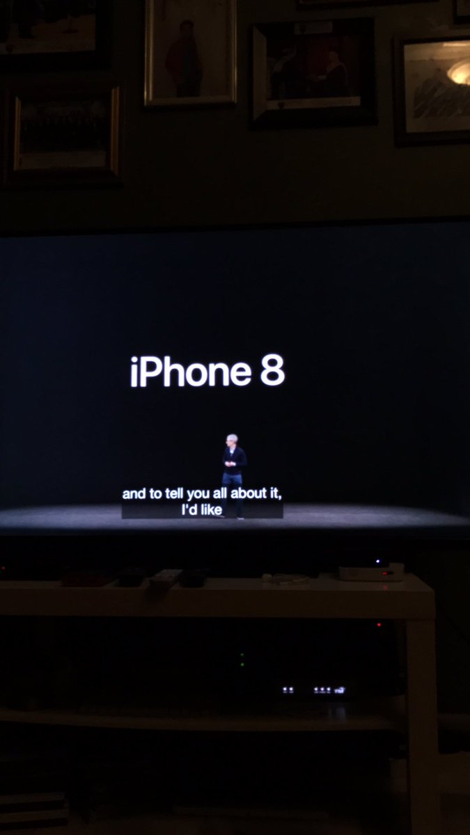 OMG!!! #iPhone8 #AppleSpecialEvent