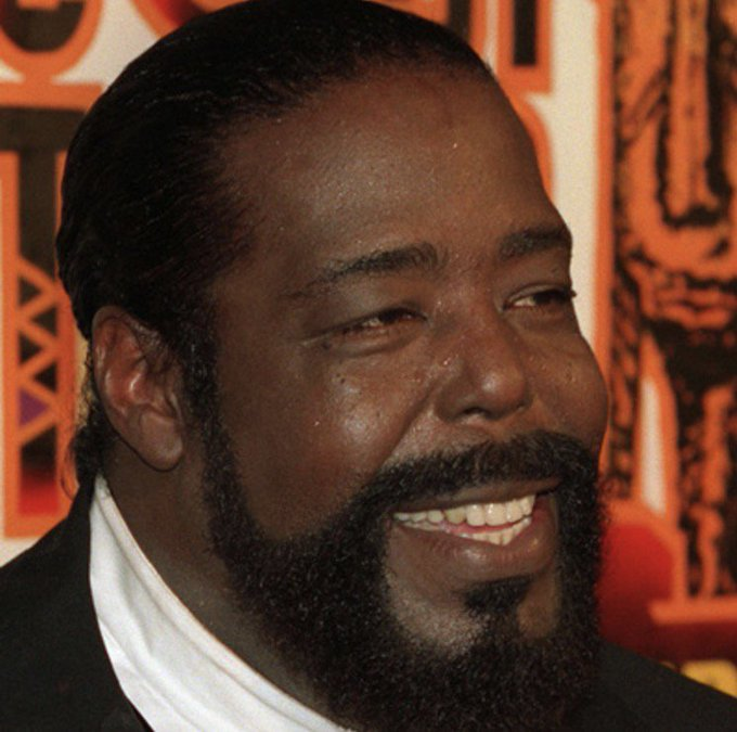 Happy Birthday To The Late Barry White 1944-2003