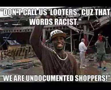 Leftists and AntiFA: arrest of looters is white supremacy