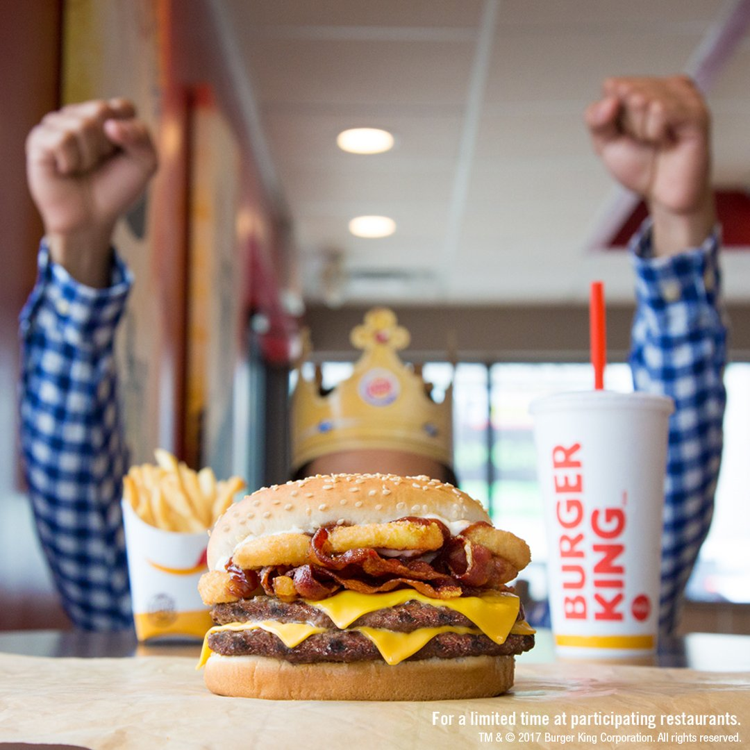 Burger King On Twitter TFW The RODEOR KINGTM Makes All Your Bacon