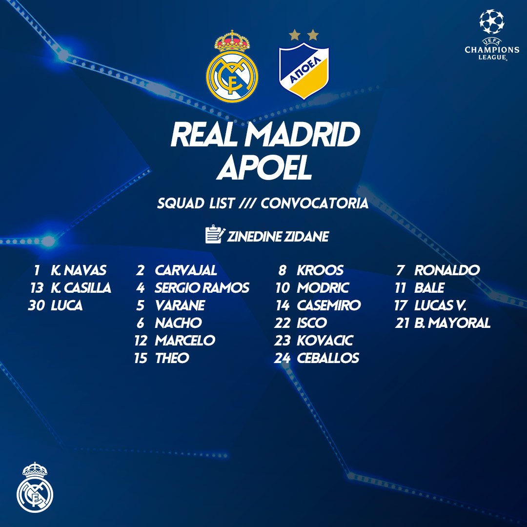 Groupe du Real Madrid
