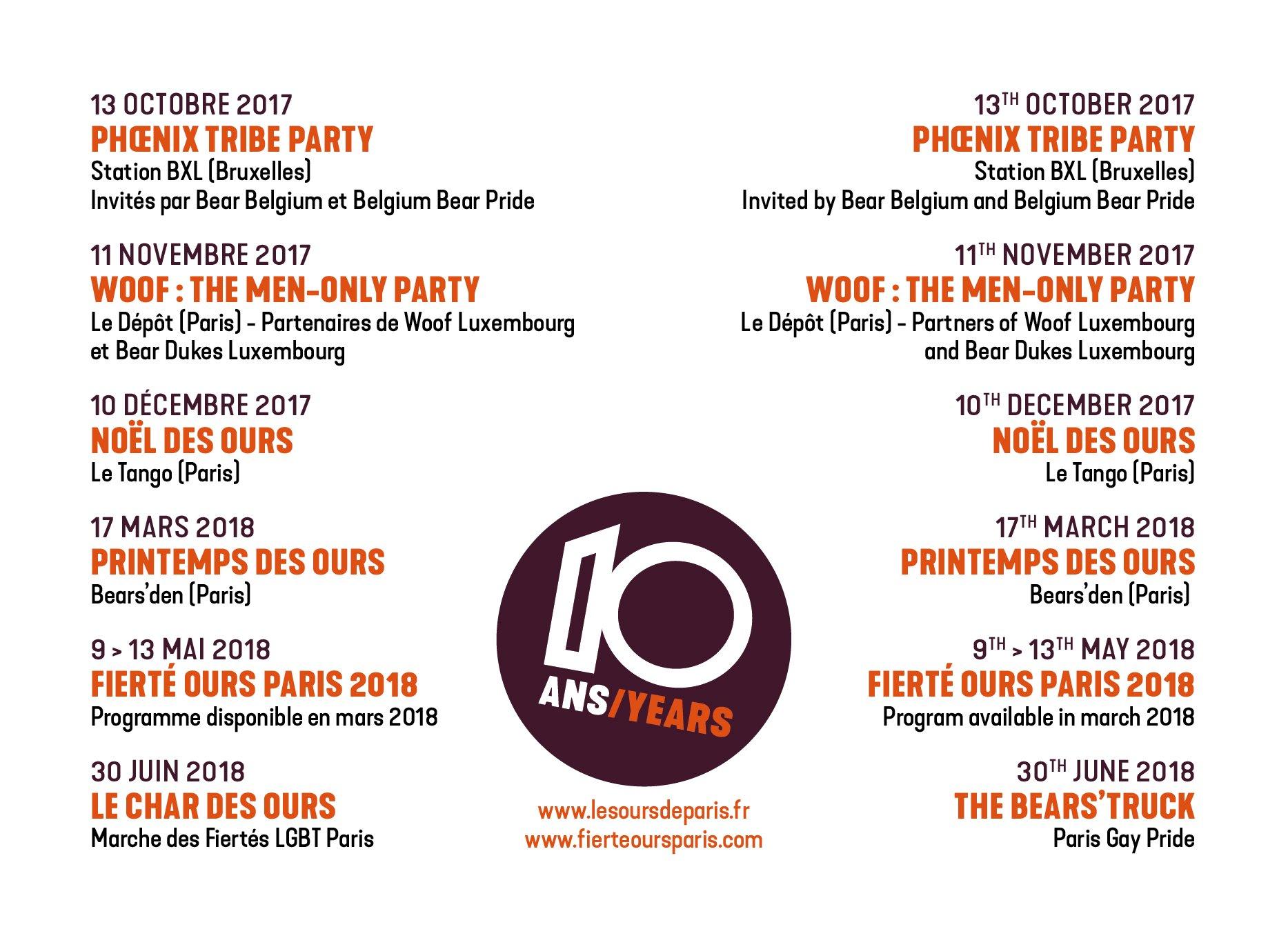 programme noel bruxelles 2018 Fierte Ours Paris on Twitter:
