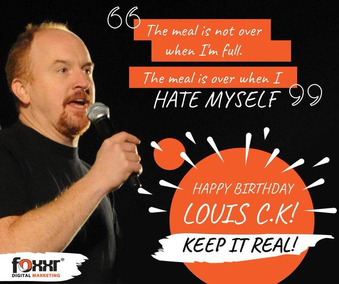 Happy Birthday, Louis C.K!