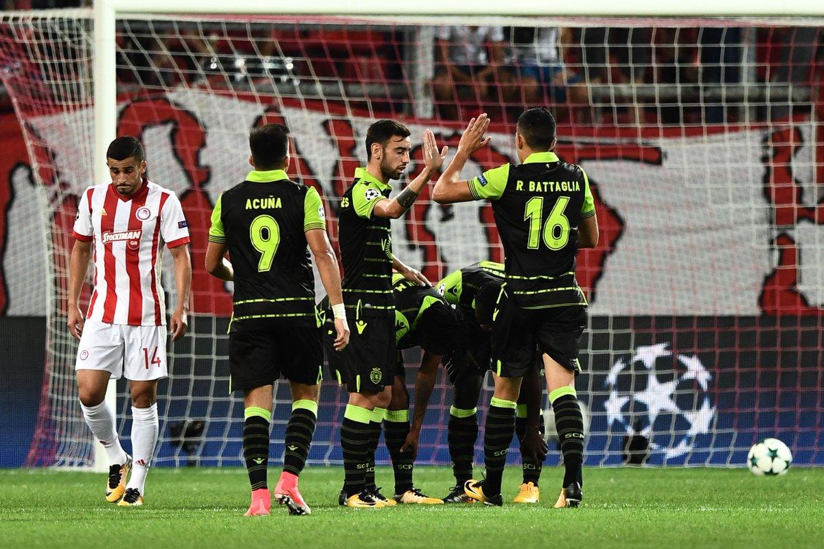 132. Olympiakos Piräus(GRE)   - Sporting CP (POR) 2:3