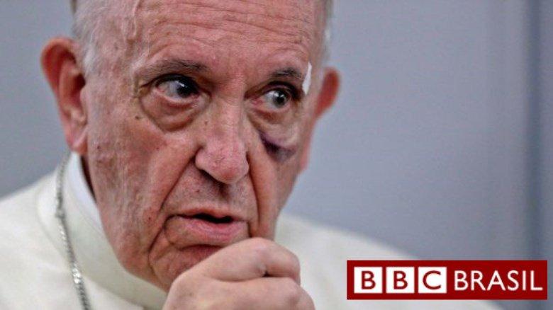 'O homem é um estúpido': a crítica do papa aos que negam mudanças climáticas https://t.co/fhoXNgOWOd