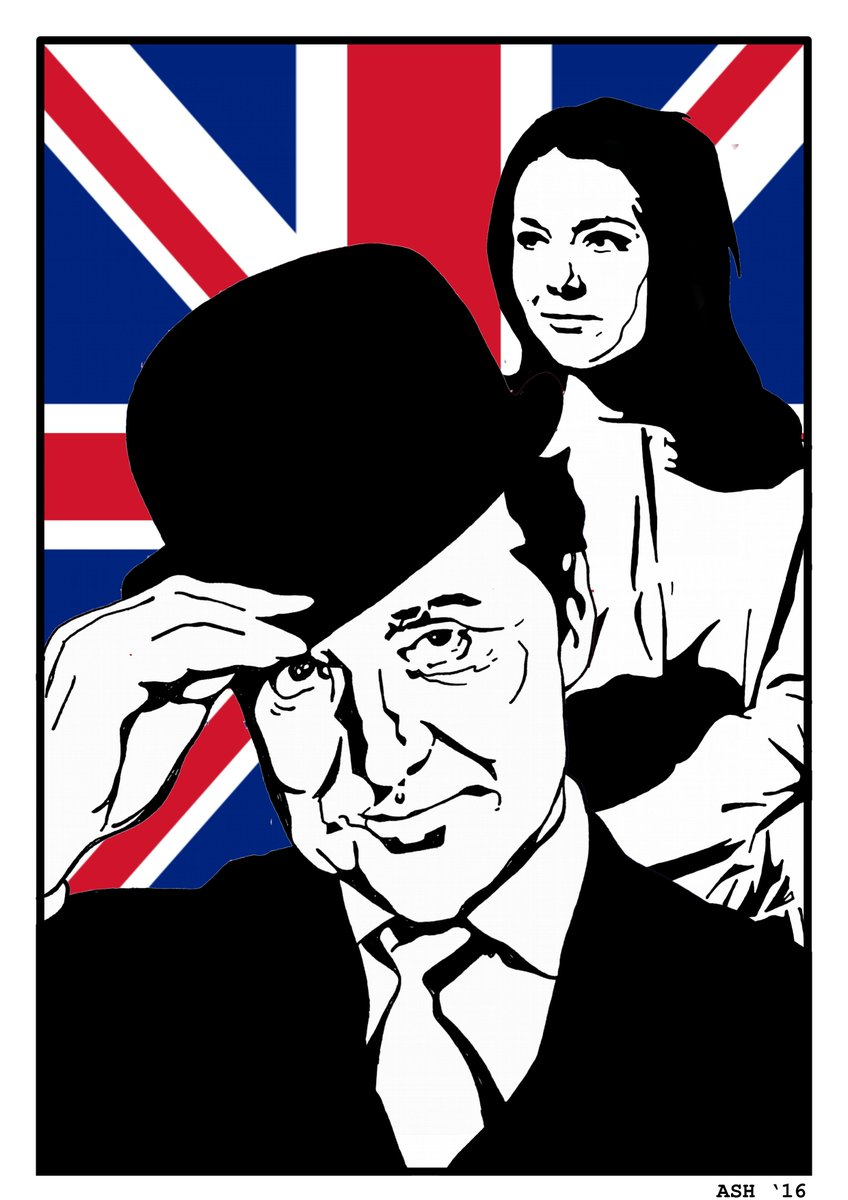 What&#39;s not to love? #TheAvengers #DianaRigg #PatrickMacnee <br>http://pic.twitter.com/qPYRhag91m