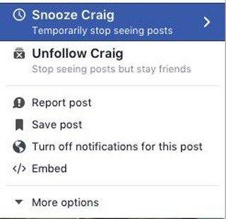 Facebook permitirá silenciar contactos -1