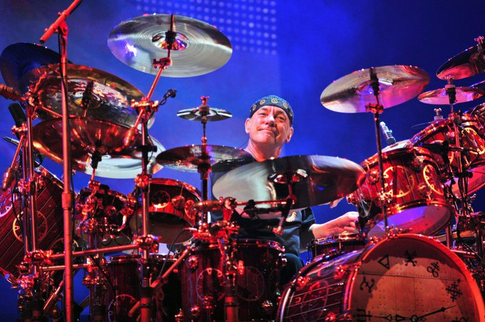 """Happy 65th Birthday to \""""The Professor\"""" NEIL PEART. Drummer & Lyricist for  Prog-Rock Icons: RUSH."""