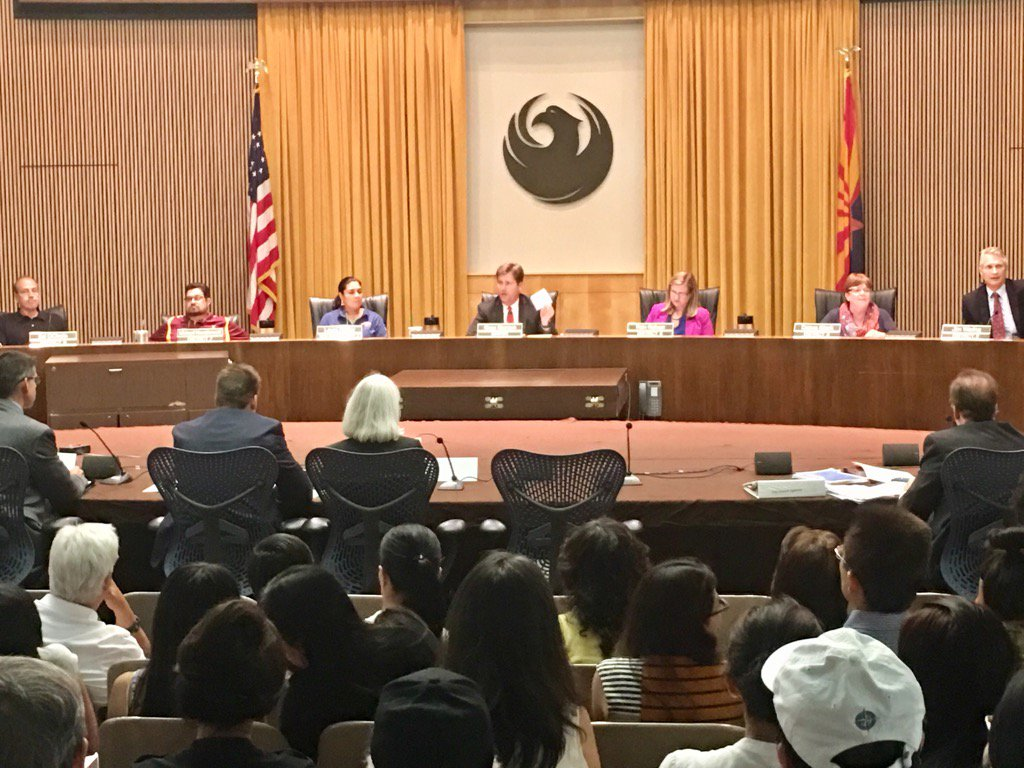 .@KateWGallego makes motion to accept donation from#chinese group for historic survey. @kjzzphoenix https://t.co/5qkRk4xy4J