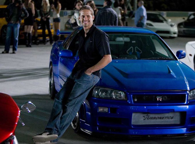 Happy birthday paul walker. RIP.