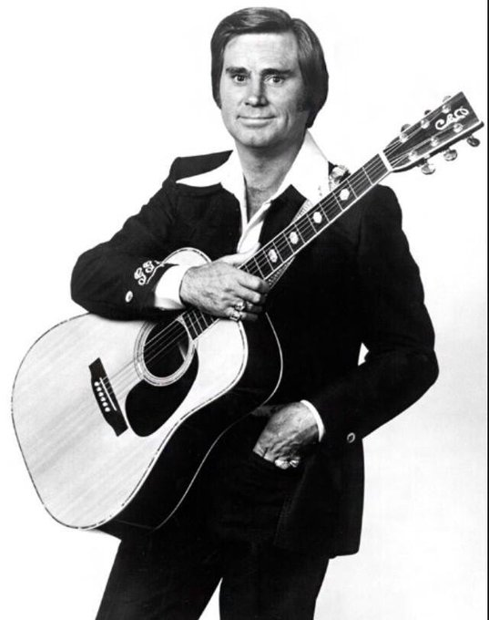 Happy Birthday to The Possum!! Born in Saratoga, TX. There will never be another George Jones.
