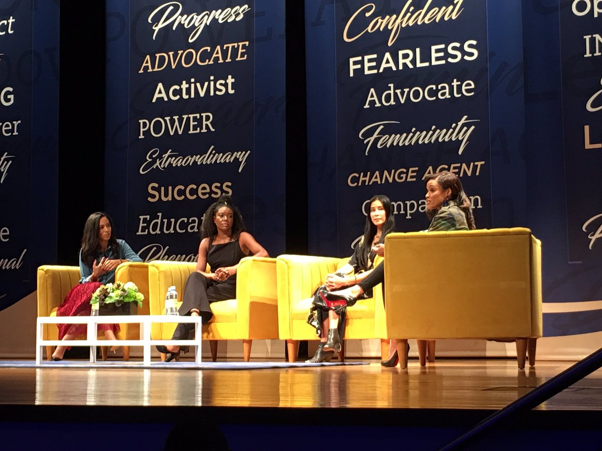 .@angela_rye @itsgabrielleu @lisaling serving LIFE and REAL TALK on #womensissues at @ncatsuaggies #NCATCTH <br>http://pic.twitter.com/e8Z89SX6ZS