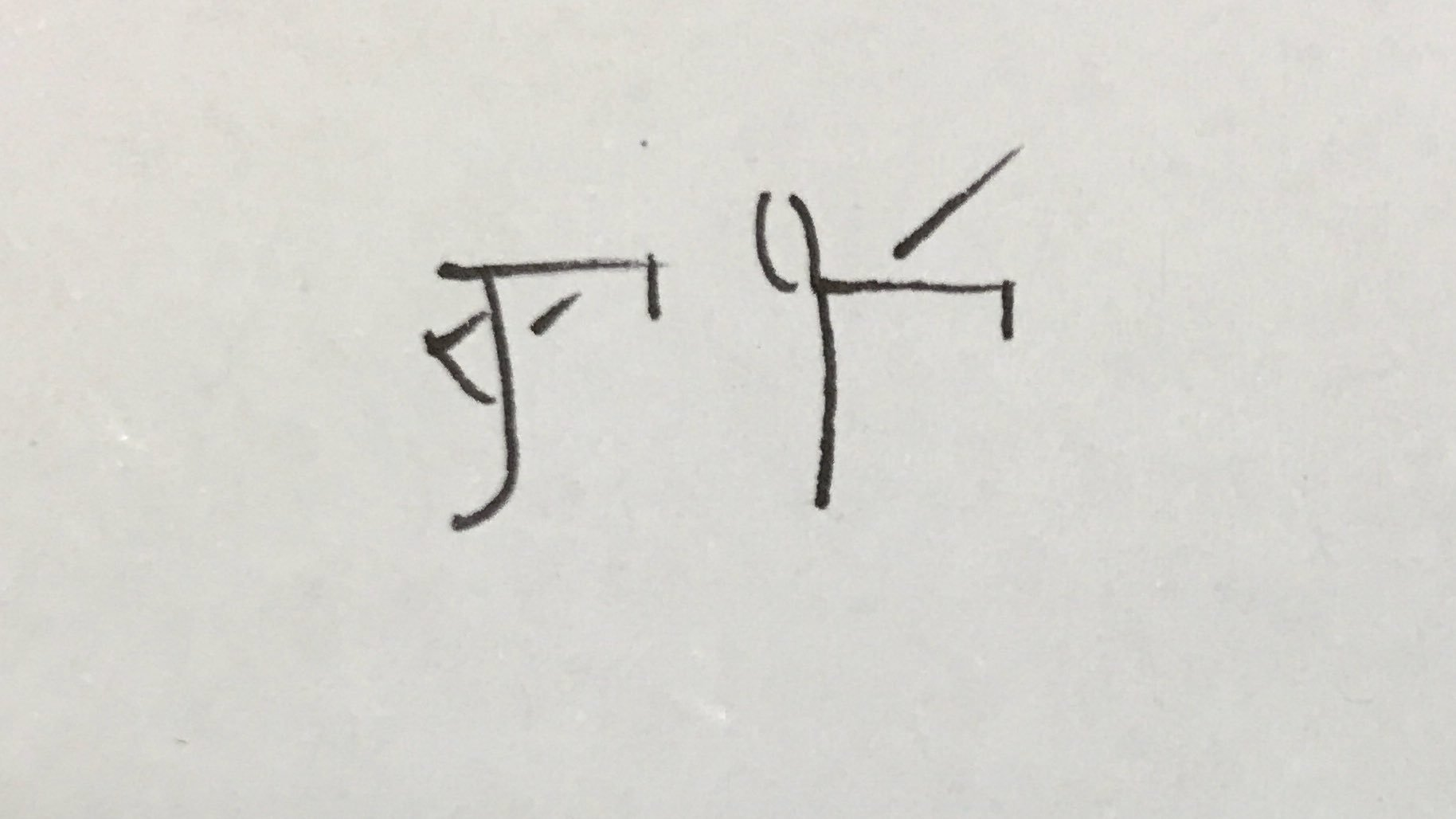 The Linear A (l) and B (r) sign AB23 had the value mu in LB. It's also used as the ideogram for ox, suggesting Myc. and Min. cows went mu. https://t.co/K2PtFLlDnJ