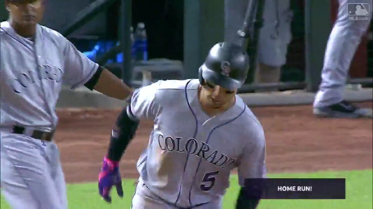 Wanna see a baseball get absolutely #crushed?  @CarGo5 is happy to oblige. https://t.co/5Dce7WZLnY