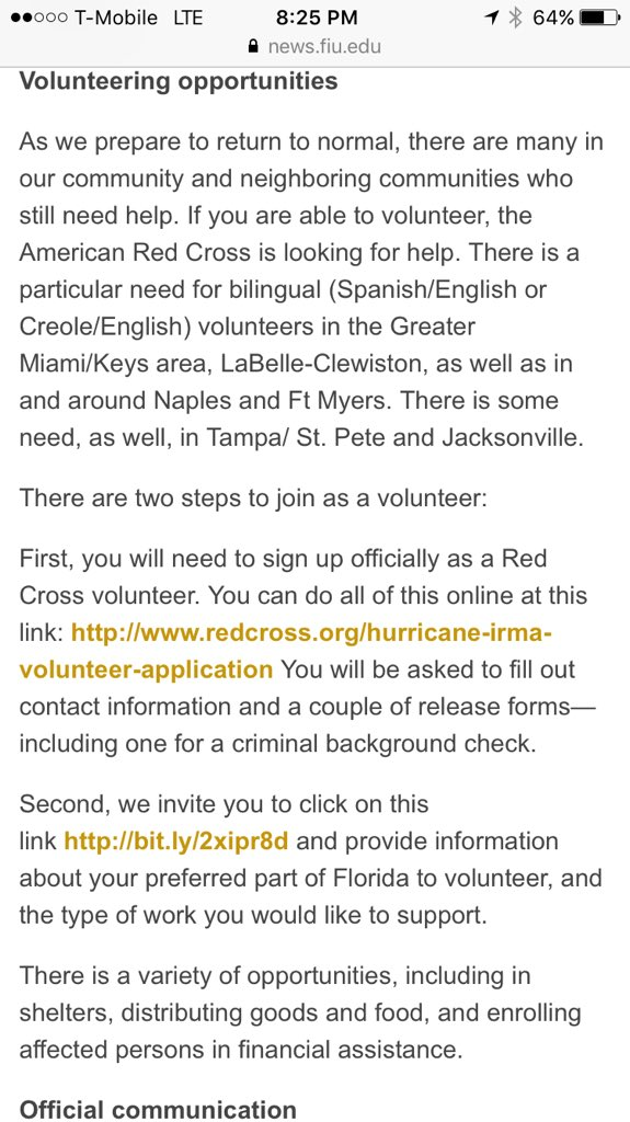 Leo Cosio On Twitter New Info Just Released Fiu Fiunews Classes