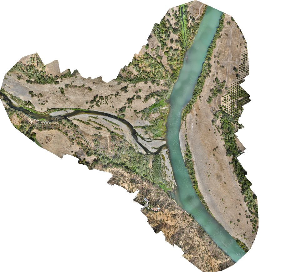 Sacramento River habits mapping with @sensefly #eBee. Working with @NOAA @NOAAFisheries and @headwall #drone #UAS<br>http://pic.twitter.com/I1gl4BD9Sc