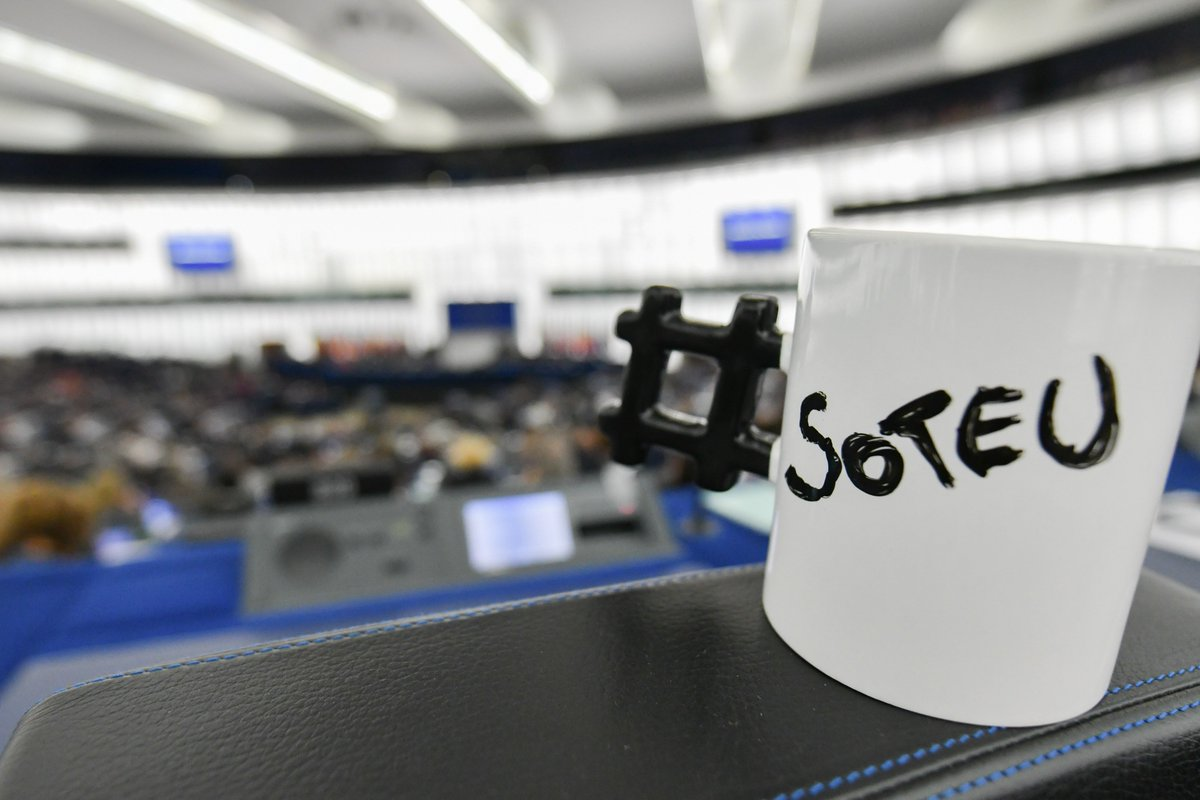 Follow live at +/- 9 CET: the State of the European Union speech via P...