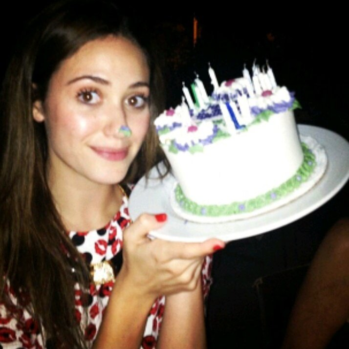 Happy birthday  to the beautiful amazing Emmy Rossum