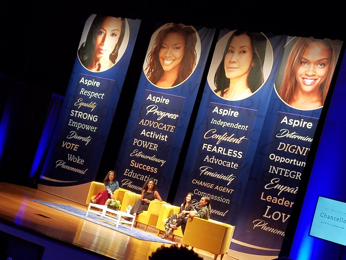 Thank you @lisaling @itsgabrielleu and @angela_rye for making #NCATCTH a HUGE success. #WomensIssues #AggiePride #NCAT<br>http://pic.twitter.com/ZWpL8u6vNf &ndash; at North Carolina A&amp;T State University