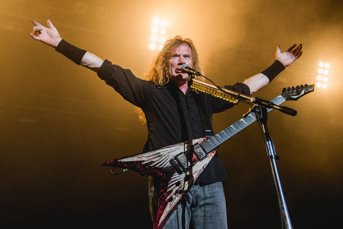 Happy Birthday To The King Of Thrash Metal .. Dave Mustaine \\m/ Megadeth . Long Live.