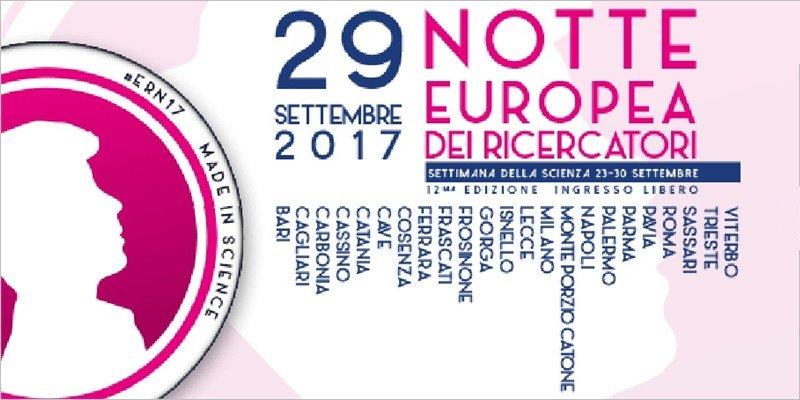 Notte Europea dei Ricercatori, l'evento dedicato alla ricerca scientifica più importante d'Europa | Settimana della Scienza