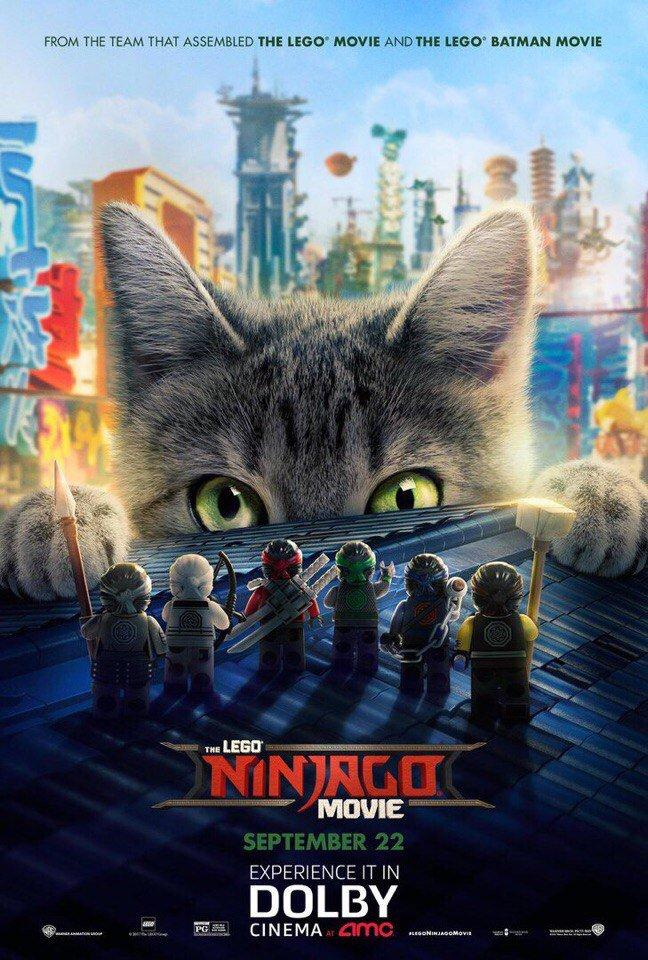 Лего фильм ниндзяго мультфильм 2017 дата выхода
