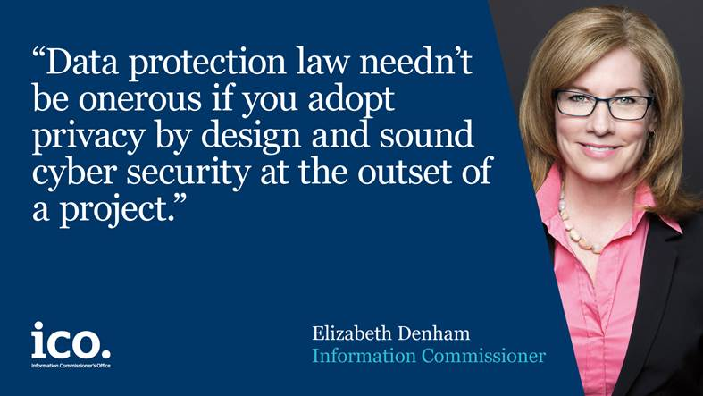 Elizabeth Denham talks about Privacy by Design at #cbicyber https://t....