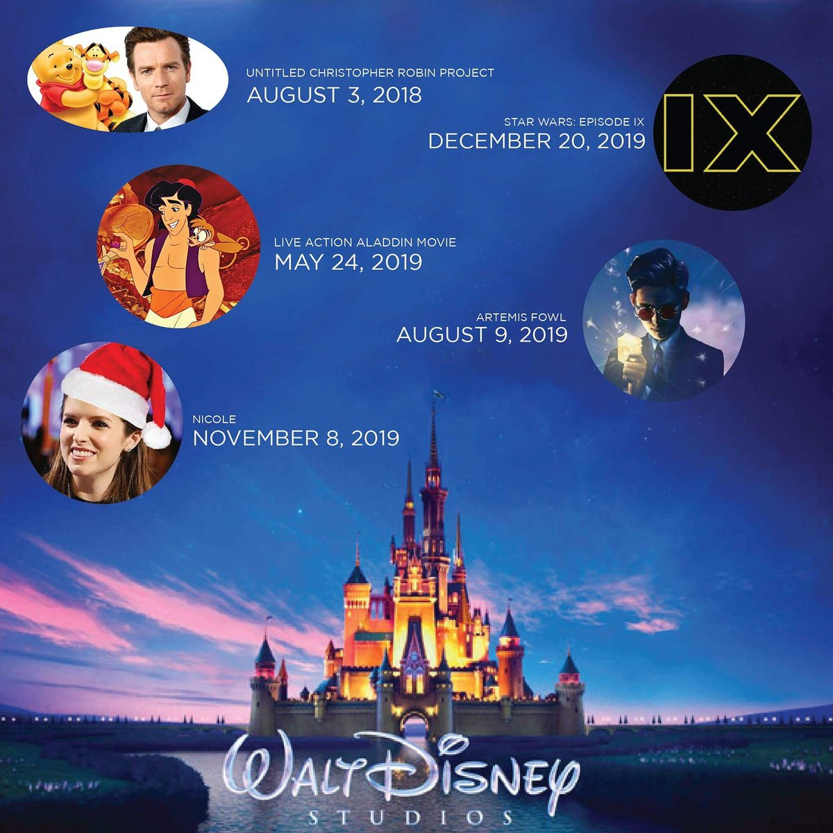Gsc On Twitter New Disney Release Dates