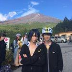 富士五合目で撮影でした。と言う事はあのシーンです。凄く厳しい条件下の中支えてくれるスタッフ、たくさん…