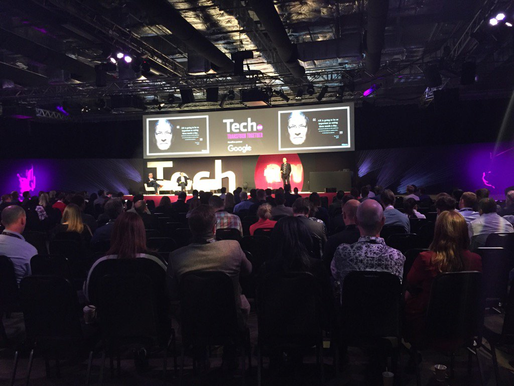 Listening to #blippar @ #rwtech showing the future buying experience a...
