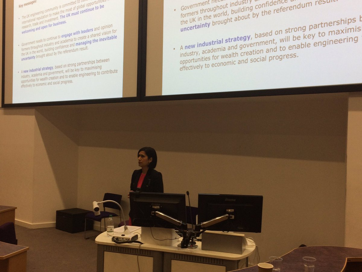 Hayaatun Sillem, @RAEngNews, on the need for the UK engineering community to unite to engineer an economy that works for all #EPCCongress17 <br>http://pic.twitter.com/GYM0M8TqJF