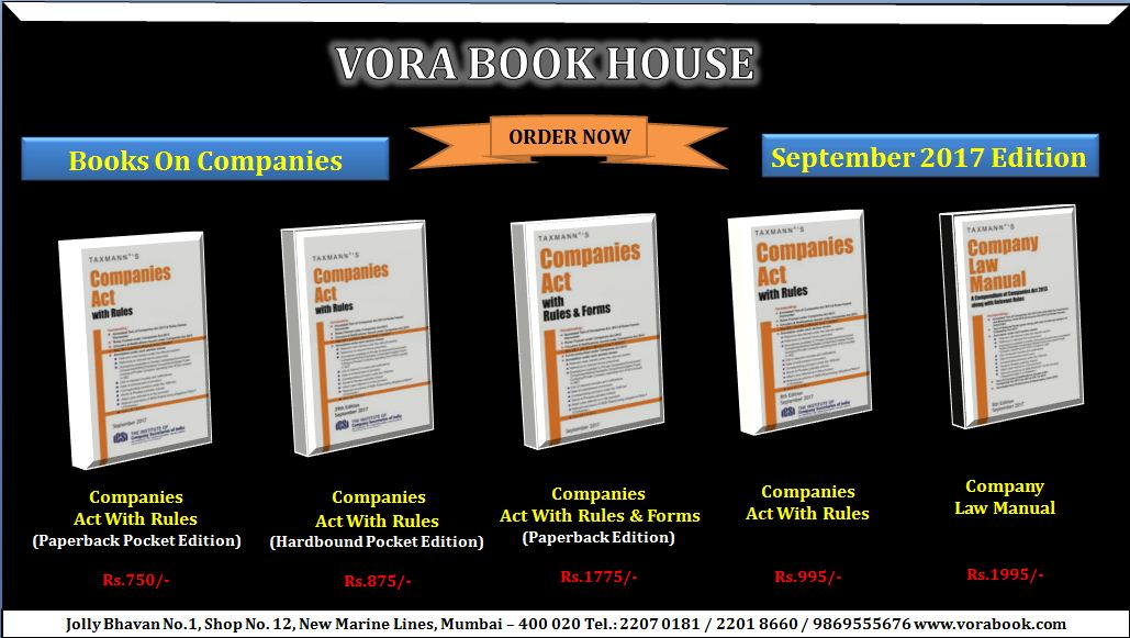 New Books released on Companies #Act With #Rules  &amp; #Forms    http://Www. vorabook.com  &nbsp;    #vorabookhouse #books #law #company #manual #bestbooks <br>http://pic.twitter.com/9aZRQh5ipD