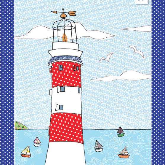 Lighthouse kitchen towel - coastal tea towel - printed kitchen towel called  https:// seethis.co/VLLlpp/  &nbsp;   #interior #love<br>http://pic.twitter.com/nCB4TItuq4