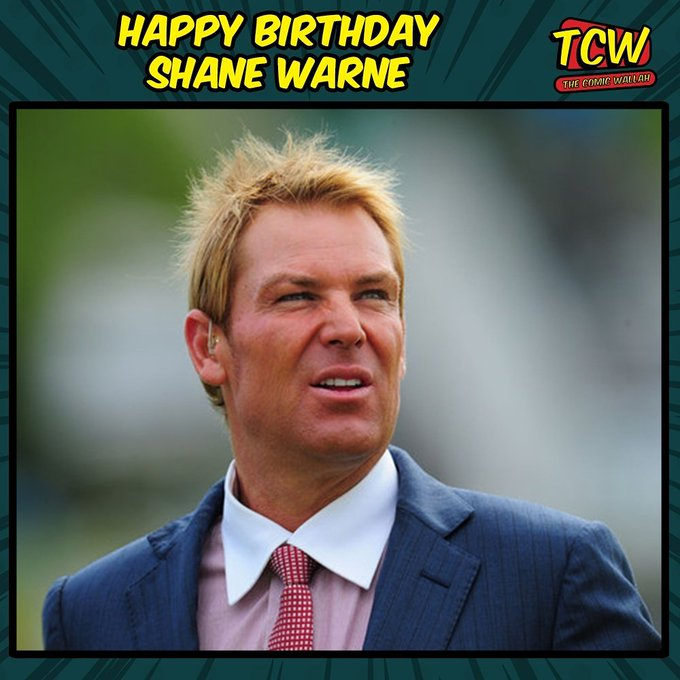 Happy Birthday Shane Warne, we miss you on the field.