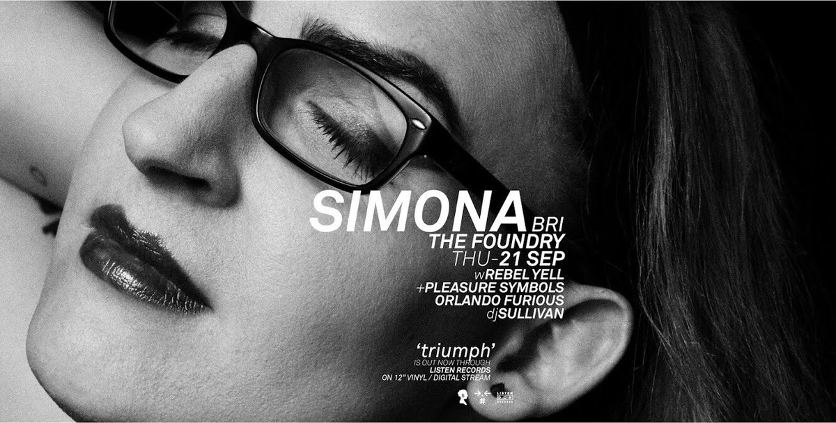 Simona On Twitter Thefoundrybris Sep 21 W Rebell Yell Pleasure