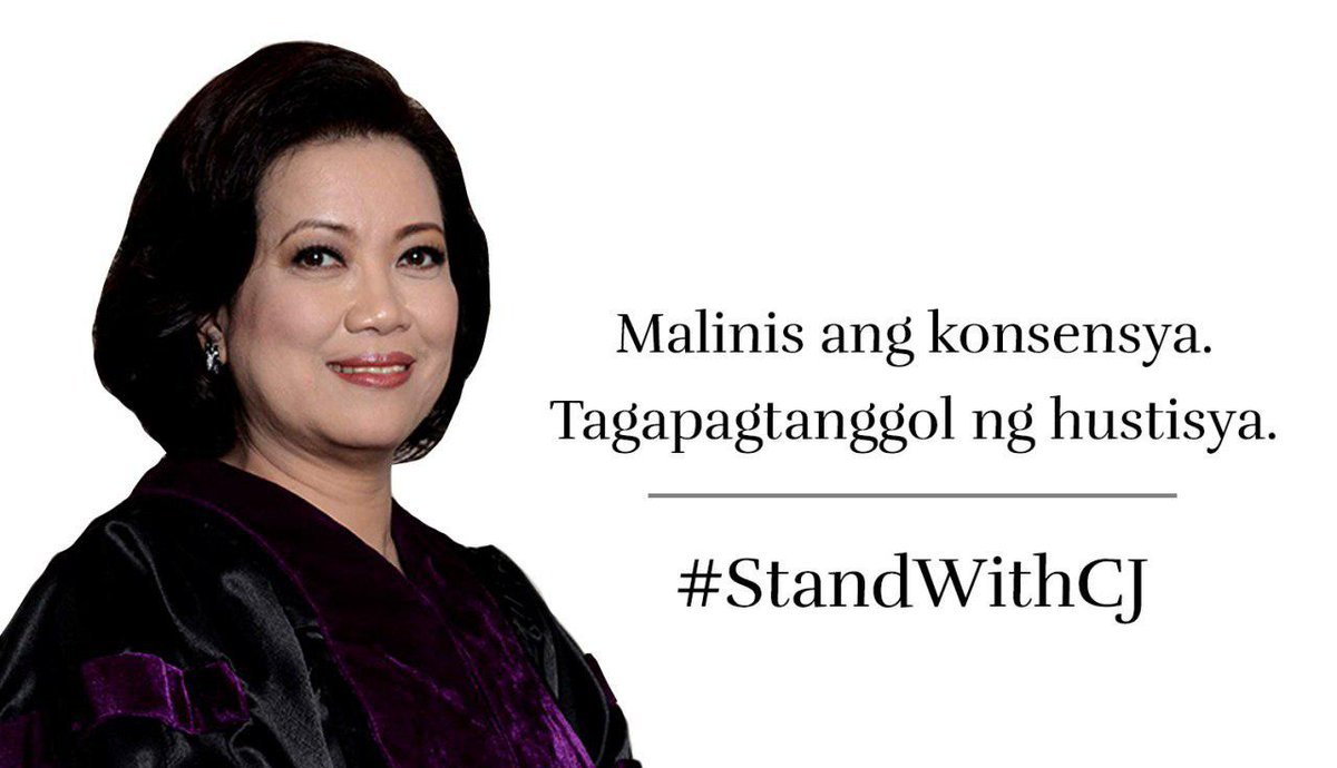 I stand with CJ Sereno. #StandWithCJ https://t.co/fNzb9ud8Mf