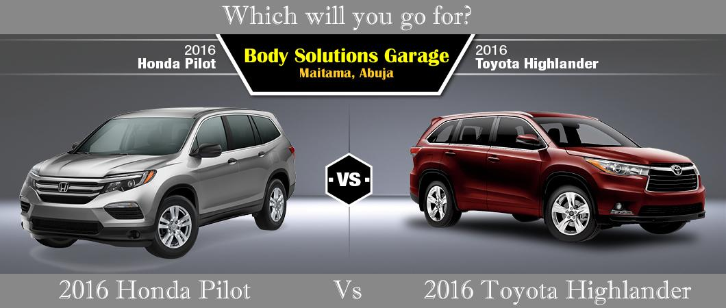 Rt For 2016 Toyota Highlander Like Honda Pilot Pic Twitter Fbssoh5xd9
