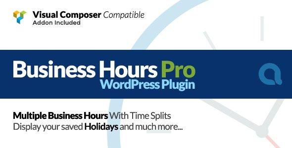 ... Pro WordPress Plugin v4.3.1) has been published on FREETHEMELOCK - http://www. freethemelock.com/plugins/busine ss-hours-pro-wordpress-plugin-v4-3-1/ …