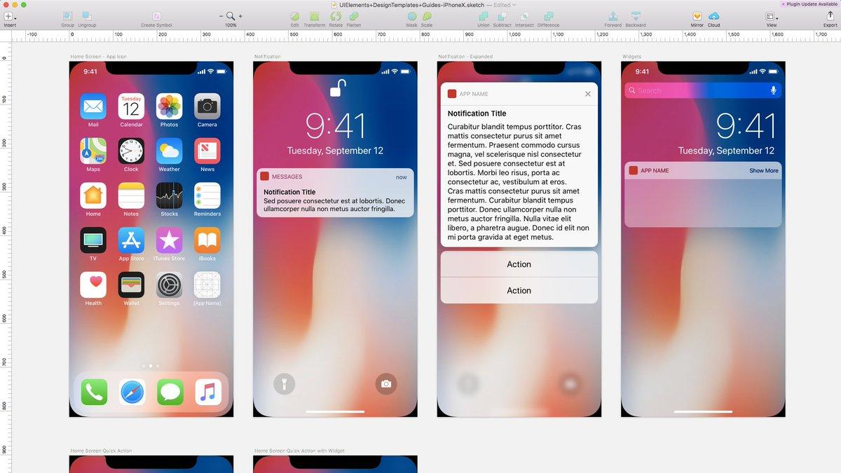苹果官方的 iOS、watchOS、tvOS 设计素材下载,PS、sketch 和 XD 格式。打开 sketch 看到恶心的齐刘海,发现新的噩梦正式开始咯,日 #设计资源 // Design Resources https://t.co/39C9pqpQ7F https://t.co/tbcSVsMIGf 1