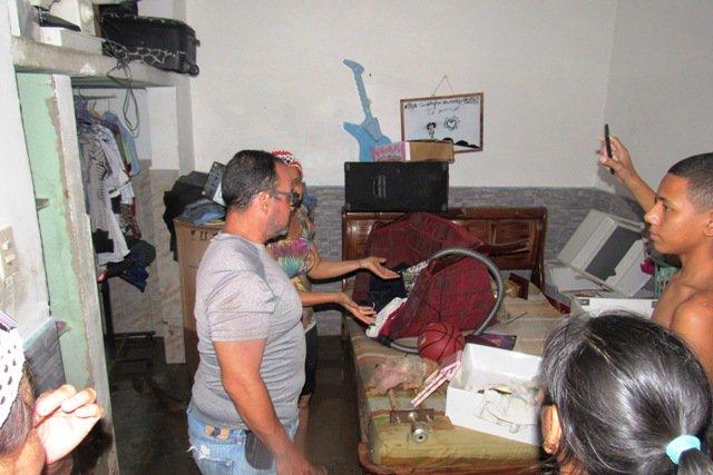 #12Sep Fuertes lluvias en Puerto Cabello causan derrumbes e inundaciones