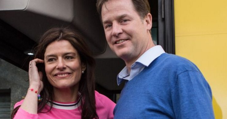 Nick Clegg and Miriam González Durántez reveal son's secret battle wit...