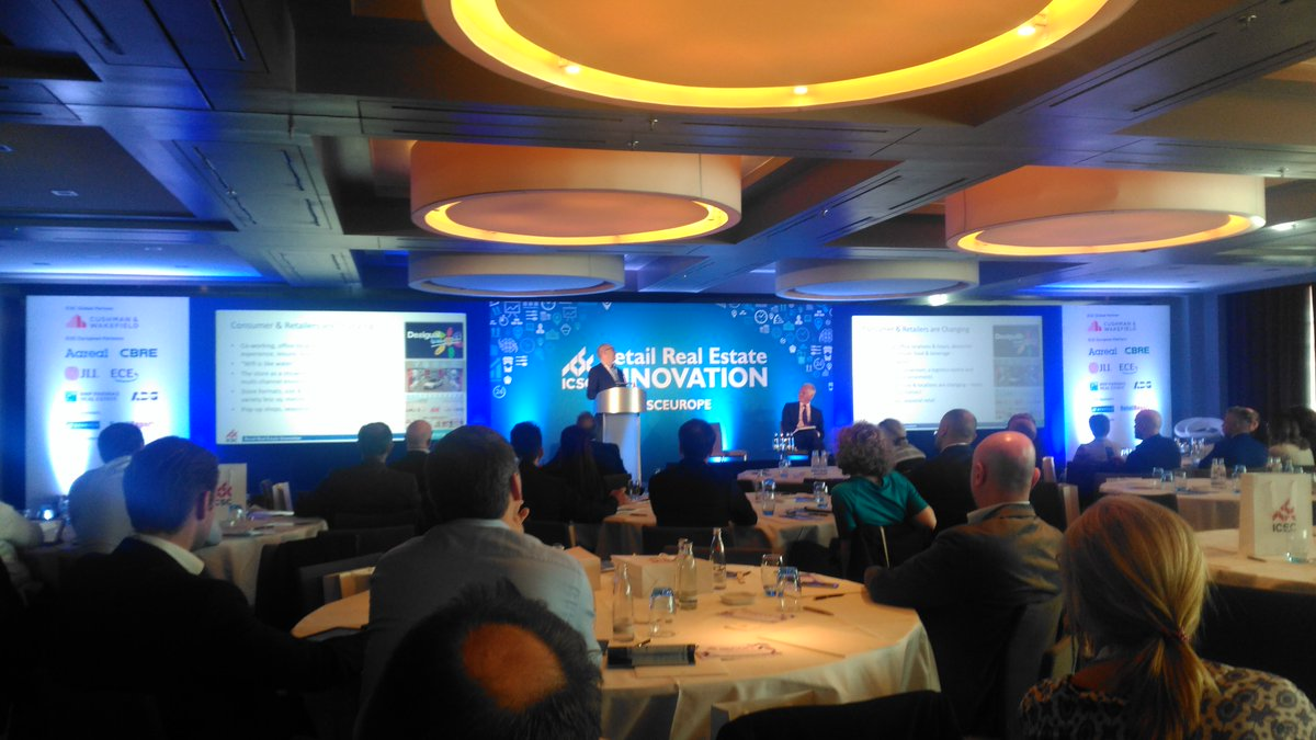 Peter Todd brings @ICSCEurope #icsceurope innovation forum back to the investment conundrum <br>http://pic.twitter.com/z2S2HwuAp8